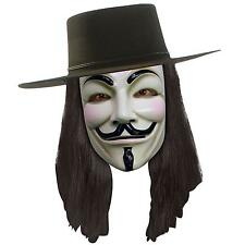 V For Vendetta Movie Costume Mask Anonymous Mask Costume Purge Mask Prop