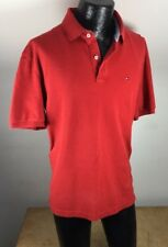 Tommy Hilfiger Polo Shirt Mens Short Sleeve Classic Fit XL Camisa Masculina