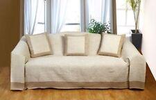 Mantas de color principal beige dormitorio