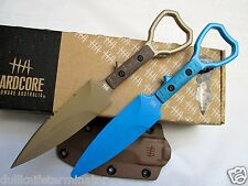 Hardcore Hardware ASOT-01 Tactical Knife Tan Trainer Package SOCP Compliant ASOT