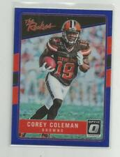 2016  Donruss Optic  COREY COLEMAN   The Rookies Blue  147/149