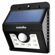Solar Power 8 LED PIR Motion Sensor Wall Security Light Lamp Garden Waterproof
