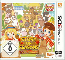 Story of Seasons: Trio of Towns (New Nintendo 3DS, 2017) neu und ovp