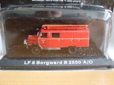 LF 8 Borgward B 2500 A/O Feuerwehrmodell 1:72, Atlas Magazinmodell
