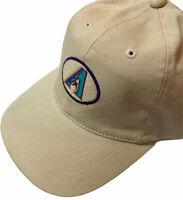 VTG Sports Specialties Arizona Diamondbacks Logo Strapback Cap Hat Off White New