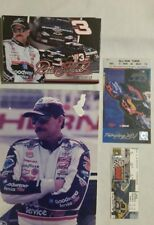DALE EARNHARDT SR (last race tickets with photo)