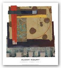 ABSTRACT ART PRINT Elemental Connections 2 Aleah Koury