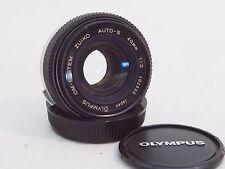 Olympys OM-System 40mm f2 pancake lens NM