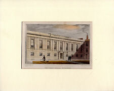 THOMAS H. SHEPHERD PRINT - GROCERS' HALL, POULTRY - LONDON LIVERY COMPANY (1827)