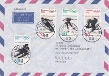 Alemania Occidental 1971 Juegos Olímpicos conjunto cubierta en muy buena condición