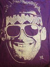 Men's WWE WWF The Miz Wrestling Purple T Shirt Sz. XL Great Condition