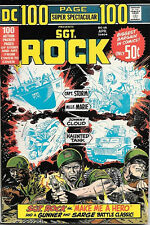 DC Comics 100 Page Super Spectacular Comic Book #16 Sgt. Rock 1973 VERY FINE