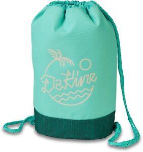 Dakine CINCH PACK 16L Womens Drawstring Rope Closure Bag Greenlake NEW Sample