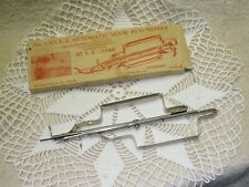 Vtg. Wonderart Automatic Hook Rug Needle, #3-So-E.Z. for Making Hook Rugs
