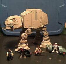 Star Wars Galactic Heroes AT-AT Walker Hasbro & Han Solo/Phasma/Rey/Stormtrooper