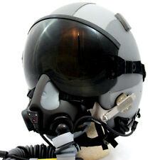 NEW HGU-GENTEX 55/P USA Lg Jet Fighter Pilot Helmet MBU Edge 20/P Oxygen Mask