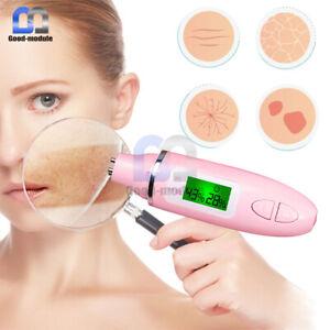 Portable Digital LCD Facial Moisture Oil Analyzer Tester Monitor For Skin Care