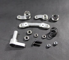 Alloy Aluminum STEERING ASSEMBLY for HPI SAVAGE XS FLUX Silver
