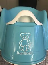 Baby Bjorn High Back Potty Seat Toilet Training Chair Teal