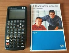 HP 50g Graphing Calculator and Original Manual Good Condition!!