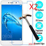 2Pcs 9H Tempered Glass Screen Protector For Huawei Y3 Ⅱ Y5 Y6 Y7/ Y7 prime 2017