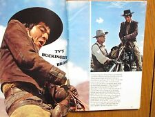 1/13/1968  TV Guide (HENRY  DARROW/MARLO THOMAS/ THAT  GIRL/THE HIGH  CHAPARRAL)