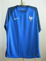 AUTHENTIC France 2016/2017 Home Size L Nike soccer shirt jersey football soccer