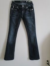 MISS ME SIGNATURE BOOT JEANS    24