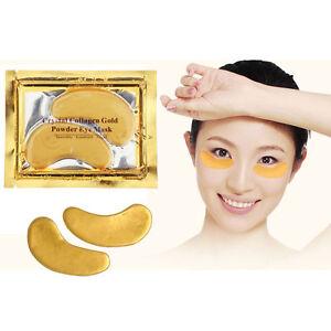 Gold Collagen Eye Mask Crystal  Anti Wrinkles Ageing Bags Dark Circles Eye Patch