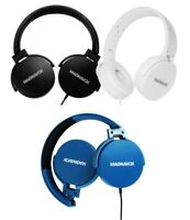 Magnavox MHP5026 Foldable Headphones DJ Monitor Style Assorted Colors NEW Sealed