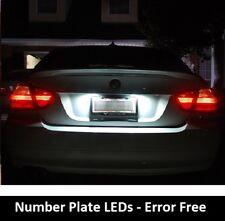 2018 BMW E46 E39 E60 E90 Error Free Xenon White LED Number Plate Lights Bulbs