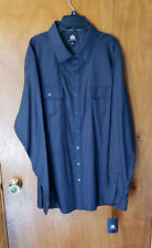 Rock & Republic Men's Black Button-Down Long Sleeve Dress Shirt Size XXL NWT