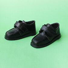 1/4 BJD Shoes MSD Supper Dollfie DREAM Black leather Shoes MID DOD LUTS SOOM AOD