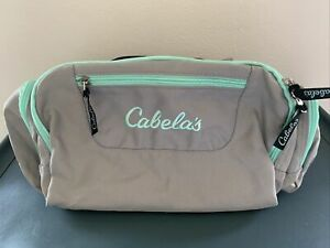 New CABELA'S Catch-All Gear Bag 6 Pockets Hunting Fishing Straps 16x10x8