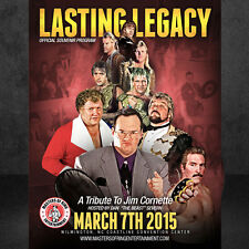 LASTING LEGACY: A TRIBUTE TO JIM CORNETTE COLLECTIBLE PROGRAM - Missy Hyatt