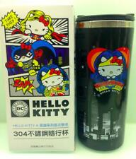 New Official Sanrio Hello Kitty DC Comic Wonder Woman Night Version Tumbler Cup