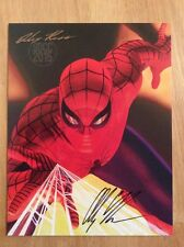 SIGNED - Alex Ross 2015 SDCC Sketchbook Softcover Exclusive Spider-Man New