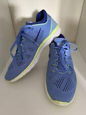 Nike Free 5.0 Blue Trainers Size UK 6.5