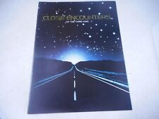1977 Close Encounters Of The Third Kind Souvenir Movie Program Guide Theater Vtg