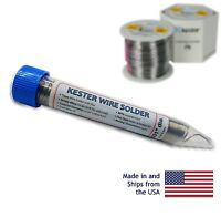 "Kester 44 Rosin Core Solder 60/40 .031"" 0.5oz Dispenser Pack"