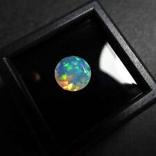 5 MM 1 PC Natural Ethiopian Welo Fire Opal Faceted Cut Gemstone Play Color DDL63