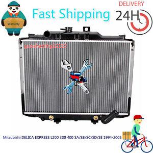 Radiator for Mitsubishi Delica/Express L300 L400 // Starwagon 1986-2007 Auto/Man