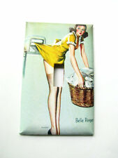 Pin up Girl Laundry Single Light Switch Plate