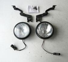 Genuine MINI Pair Black Front Spotlights for R56 R55 R57 & LCI R58 R59 - 0420300