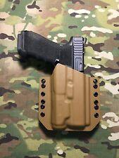 Coyote Tan Kydex Light Bearing Holster Glock 17/22/31 Inforce APL