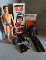 VINTAGE ACTION MAN FROGMAN -  BOXED VERY RARE PALITOY