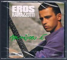 EROS RAMAZZOTTI MUSICA E'  CD SIGILLATO!!!