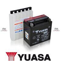 BATTERIA YUASA YTX14-BS KYMCO Xciting I 400 2012 2013 2014 2015