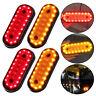 2 Red 2 Amber 20LED Side Marker Indicator Light Lamp Caravan Truck Trailer Lorry