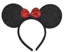 Hairbands Mouse Ears Carnival Minnie Mouse Glitter Mouse Ears Headband